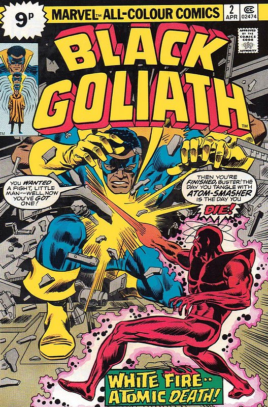 Cover of Black Goliath (Vol 1) #2. One of 250,000 Vintage American Comics on sale from Krypton!