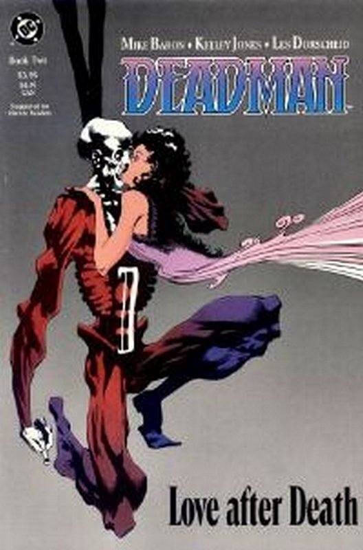 Cover of Deadman: Love After Death #2. One of 250,000 Vintage American Comics on sale from Krypton!