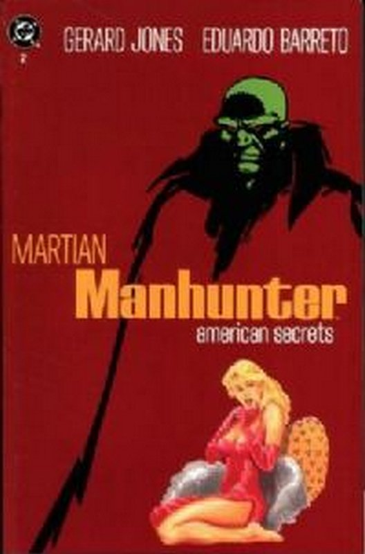 Cover of Martian Manhunter: American Secrets (1992 Ltd) #2. One of 250,000 Vintage American Comics on sale from Krypton!