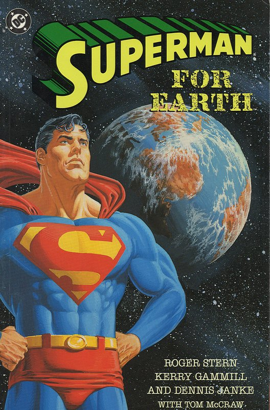 Cover of Superman: For Earth (1991 One Shot) #1. One of 250,000 Vintage American Comics on sale from Krypton!