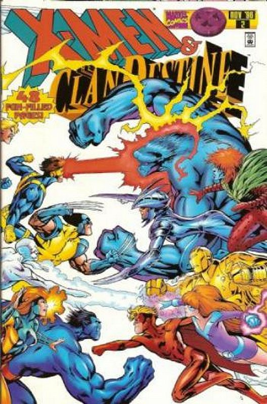 Cover of X-Men/ClanDestine (1996 Ltd) #2. One of 250,000 Vintage American Comics on sale from Krypton!