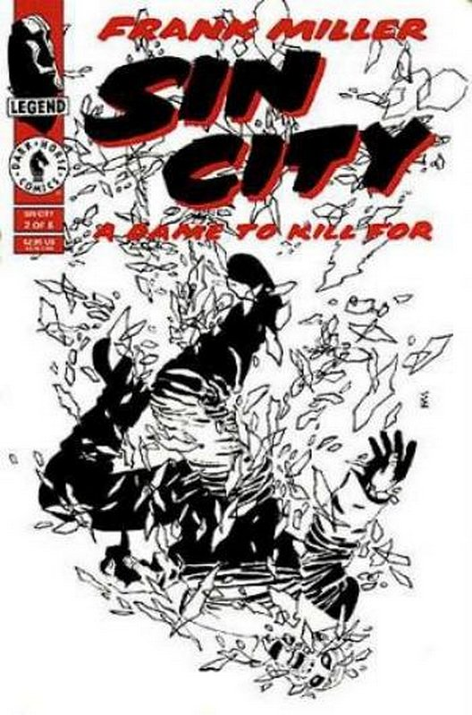Cover of Sin City: A Dame to Kill for (1993 Ltd) #2. One of 250,000 Vintage American Comics on sale from Krypton!