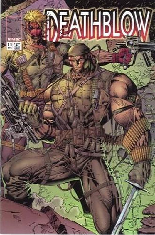 Cover of Deathblow (Vol 1) #11. One of 250,000 Vintage American Comics on sale from Krypton!