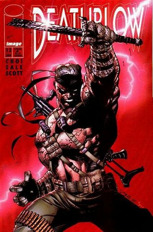 Cover of Deathblow (Vol 1) #12. One of 250,000 Vintage American Comics on sale from Krypton!