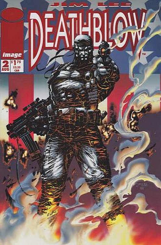 Cover of Deathblow (Vol 1) #2. One of 250,000 Vintage American Comics on sale from Krypton!