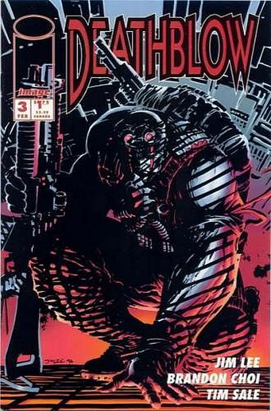 Cover of Deathblow (Vol 1) #3. One of 250,000 Vintage American Comics on sale from Krypton!