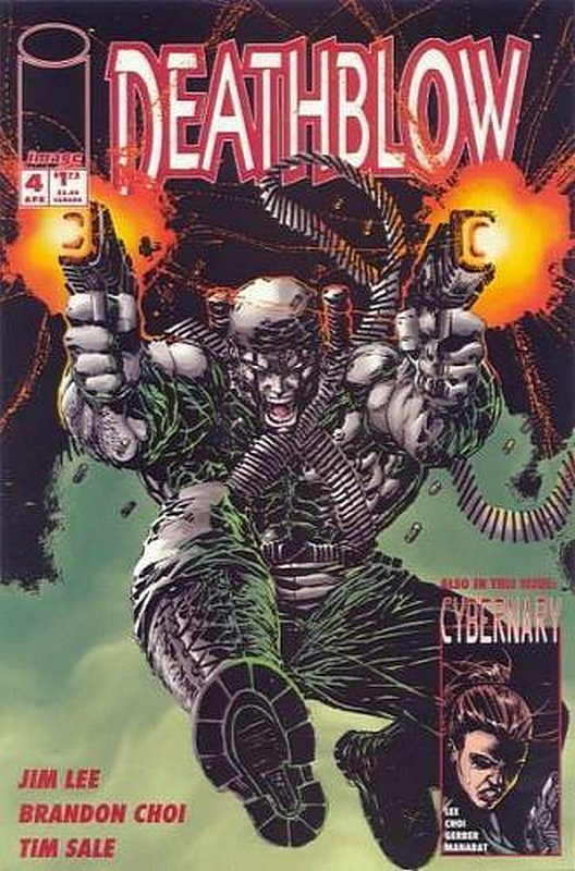 Cover of Deathblow (Vol 1) #4. One of 250,000 Vintage American Comics on sale from Krypton!