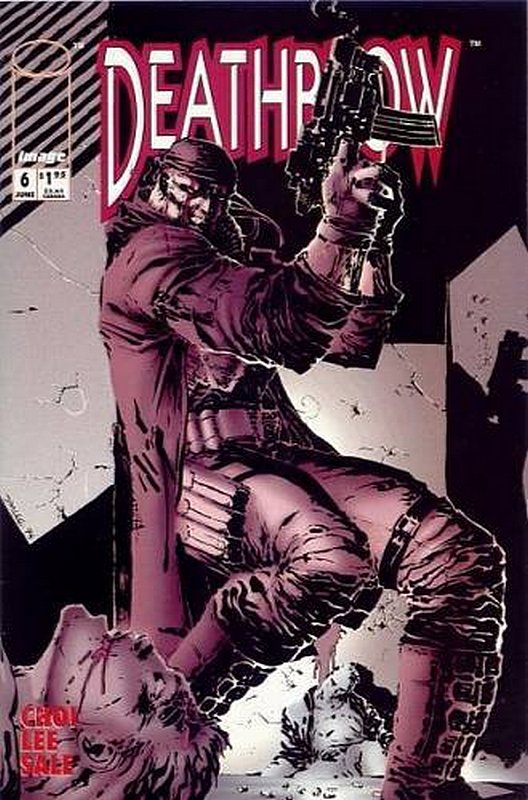 Cover of Deathblow (Vol 1) #6. One of 250,000 Vintage American Comics on sale from Krypton!