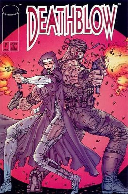 Cover of Deathblow (Vol 1) #7. One of 250,000 Vintage American Comics on sale from Krypton!
