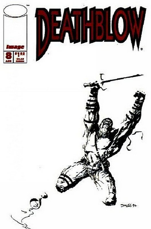 Cover of Deathblow (Vol 1) #8. One of 250,000 Vintage American Comics on sale from Krypton!