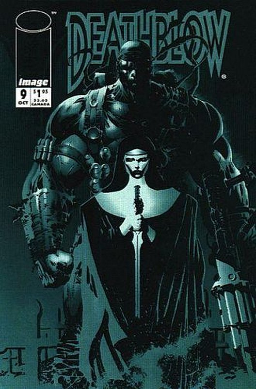 Cover of Deathblow (Vol 1) #9. One of 250,000 Vintage American Comics on sale from Krypton!