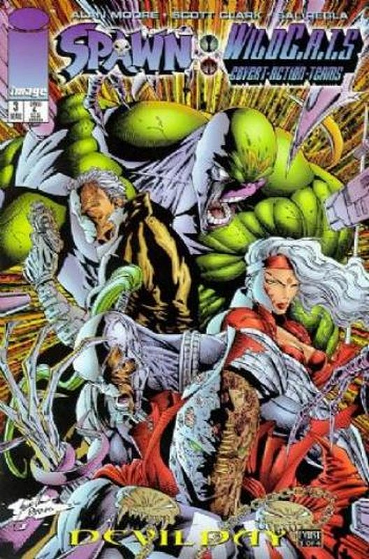 Cover of Spawn/WildCATS (1996 Ltd) #3. One of 250,000 Vintage American Comics on sale from Krypton!