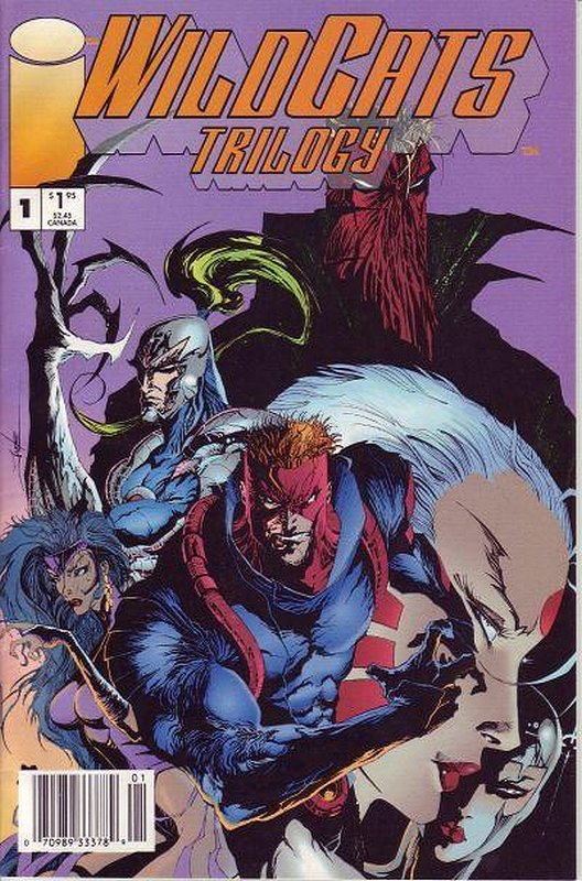 Cover of WildCATS: Trilogy (1993 Ltd) #1. One of 250,000 Vintage American Comics on sale from Krypton!