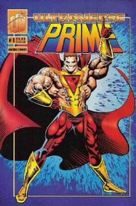 Cover of Prime (Vol 1) #1. One of 250,000 Vintage American Comics on sale from Krypton!
