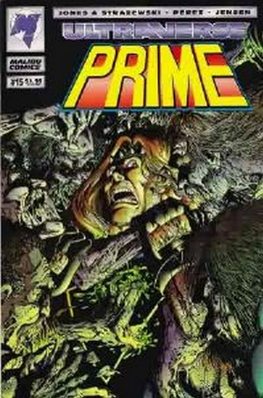 Cover of Prime (Vol 1) #15. One of 250,000 Vintage American Comics on sale from Krypton!