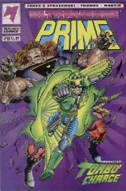 Cover of Prime (Vol 1) #16. One of 250,000 Vintage American Comics on sale from Krypton!