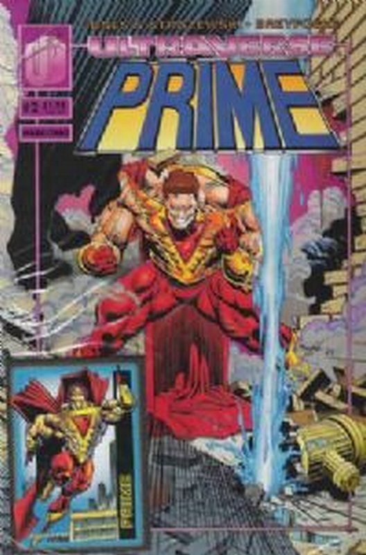 Cover of Prime (Vol 1) #2. One of 250,000 Vintage American Comics on sale from Krypton!