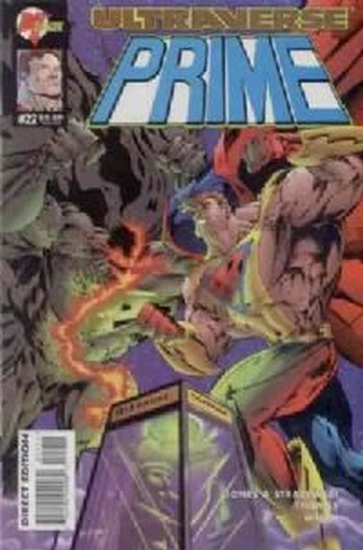 Cover of Prime (Vol 1) #22. One of 250,000 Vintage American Comics on sale from Krypton!