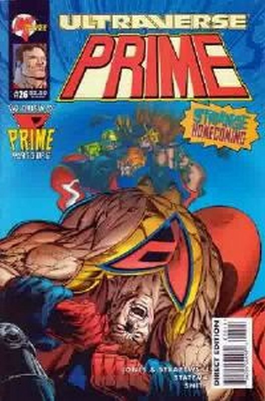 Cover of Prime (Vol 1) #26. One of 250,000 Vintage American Comics on sale from Krypton!