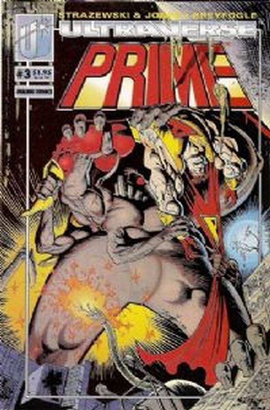 Cover of Prime (Vol 1) #3. One of 250,000 Vintage American Comics on sale from Krypton!
