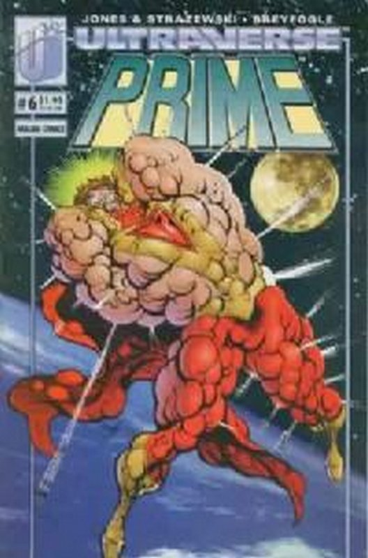 Cover of Prime (Vol 1) #6. One of 250,000 Vintage American Comics on sale from Krypton!