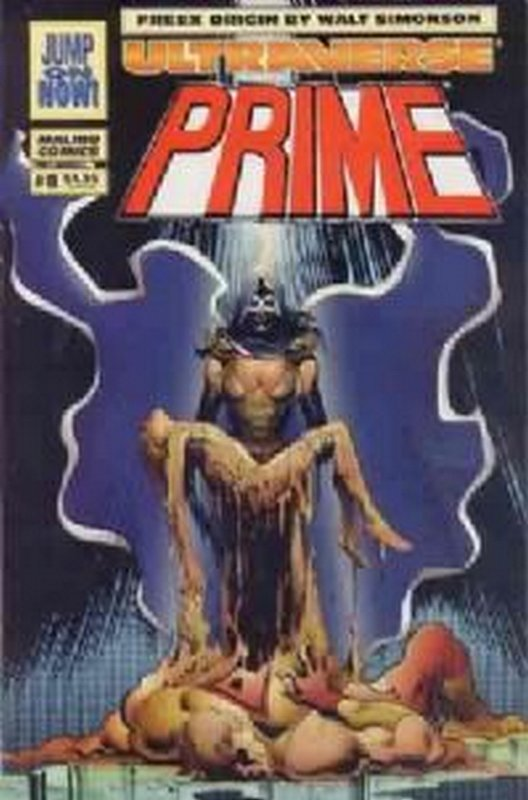 Cover of Prime (Vol 1) #8. One of 250,000 Vintage American Comics on sale from Krypton!