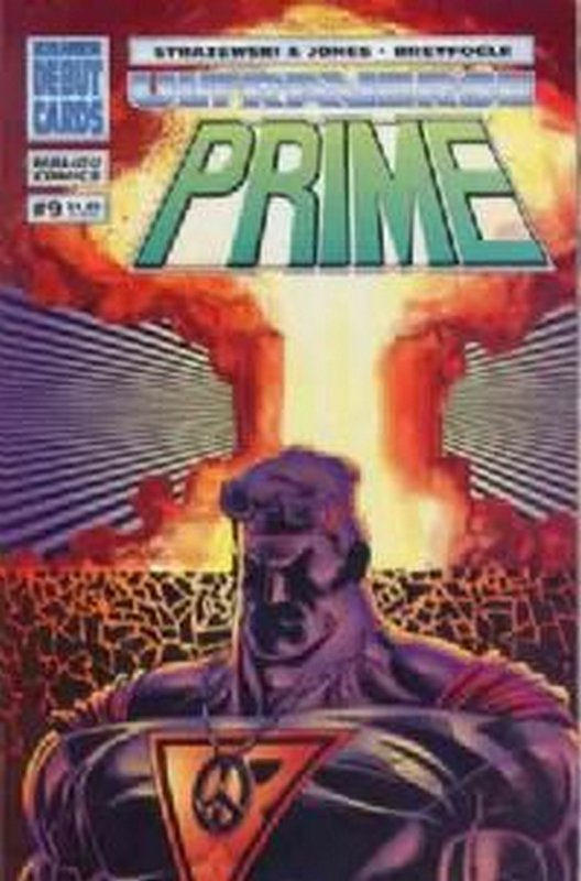 Cover of Prime (Vol 1) #9. One of 250,000 Vintage American Comics on sale from Krypton!