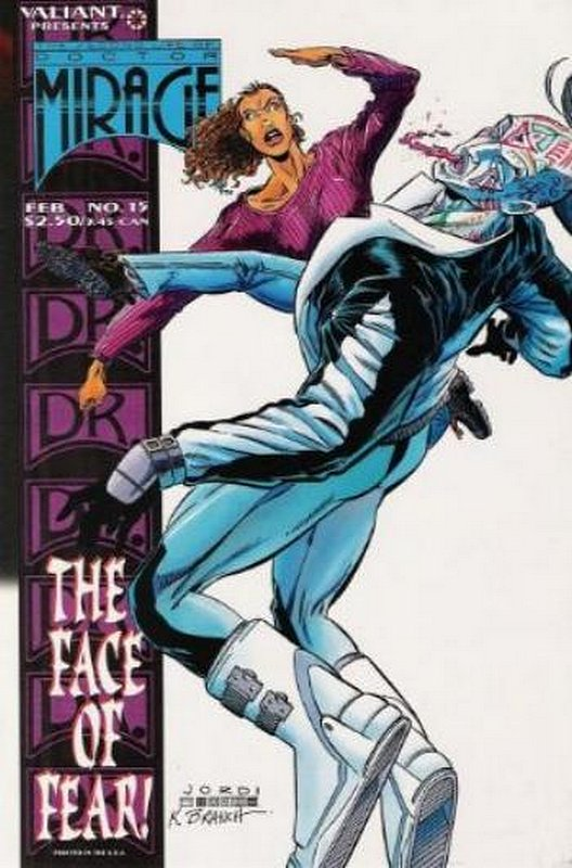 Cover of Doctor Mirage (Vol 1) Second Life of #15. One of 250,000 Vintage American Comics on sale from Krypton!