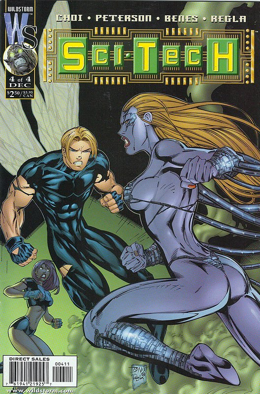 Cover of Sci Tech (1999 Ltd) #4. One of 250,000 Vintage American Comics on sale from Krypton!
