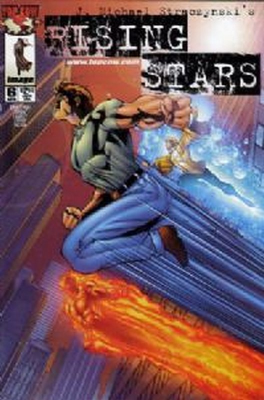 Cover of Rising Stars #6. One of 250,000 Vintage American Comics on sale from Krypton!