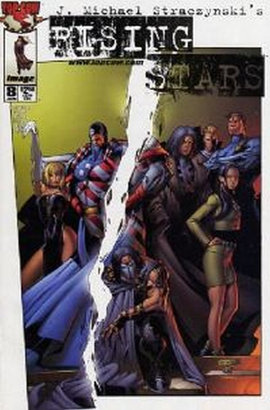 Cover of Rising Stars #8. One of 250,000 Vintage American Comics on sale from Krypton!