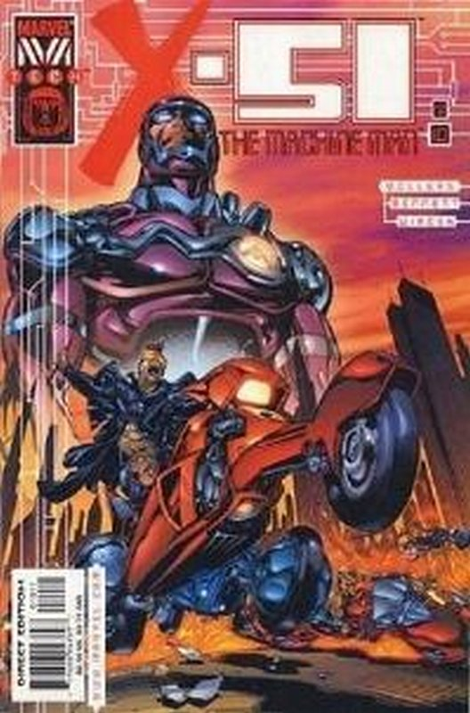 Cover of X-51: The Machine Man (Vol 1) #10. One of 250,000 Vintage American Comics on sale from Krypton!
