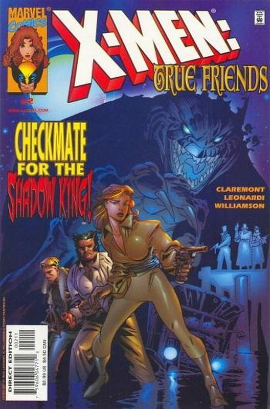 Cover of X-Men: True Friends (1999 Ltd) #2. One of 250,000 Vintage American Comics on sale from Krypton!