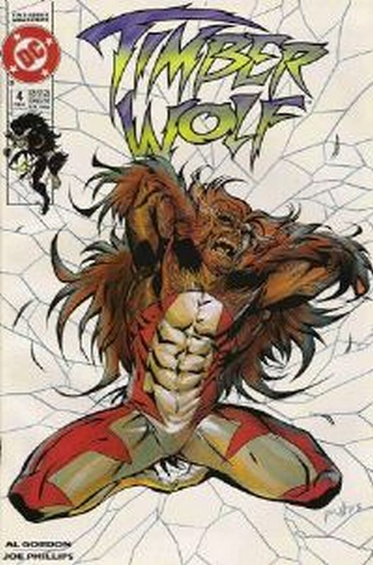 Cover of Timber Wolf (1992 Ltd) #4. One of 250,000 Vintage American Comics on sale from Krypton!