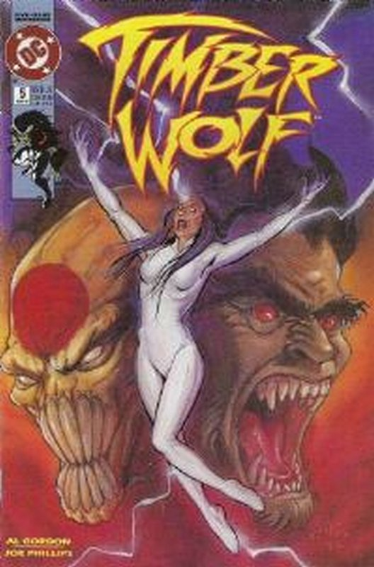 Cover of Timber Wolf (1992 Ltd) #5. One of 250,000 Vintage American Comics on sale from Krypton!