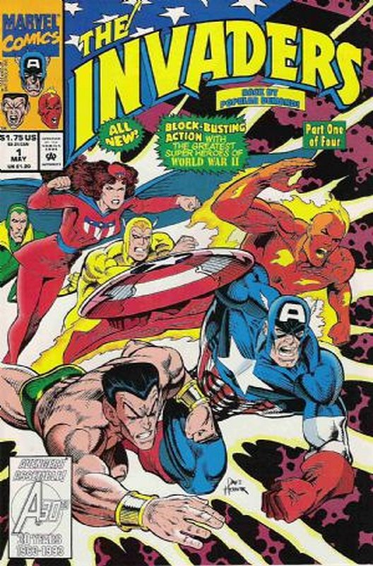 Cover of Invaders (1993 Ltd) #1. One of 250,000 Vintage American Comics on sale from Krypton!