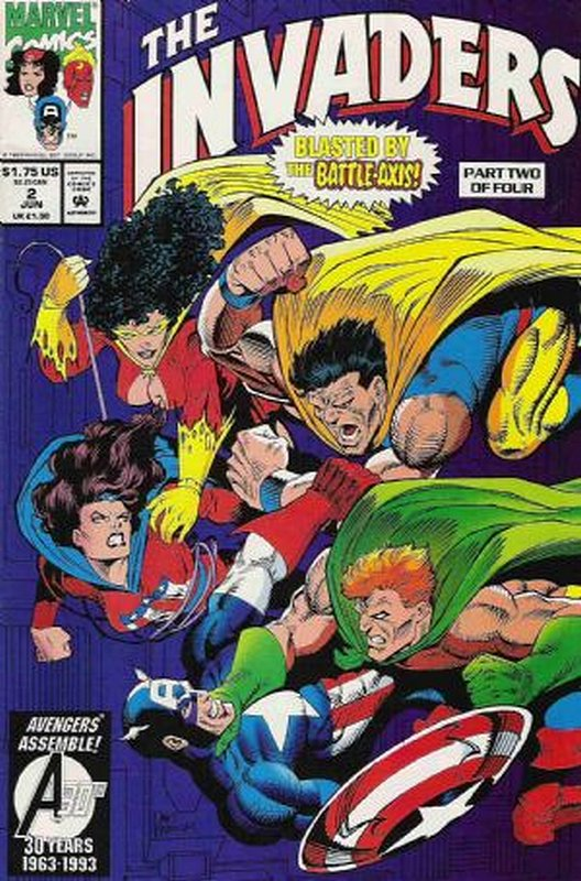 Cover of Invaders (1993 Ltd) #2. One of 250,000 Vintage American Comics on sale from Krypton!