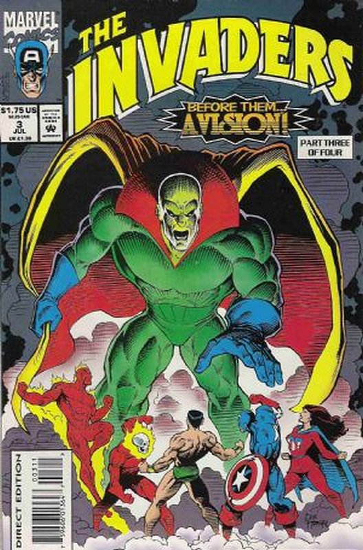 Cover of Invaders (1993 Ltd) #3. One of 250,000 Vintage American Comics on sale from Krypton!