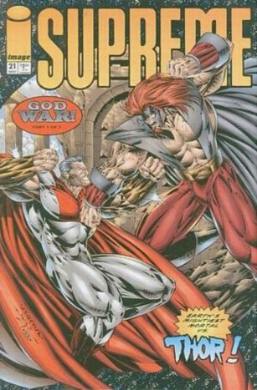 Cover of Supreme (Vol 1) #21. One of 250,000 Vintage American Comics on sale from Krypton!