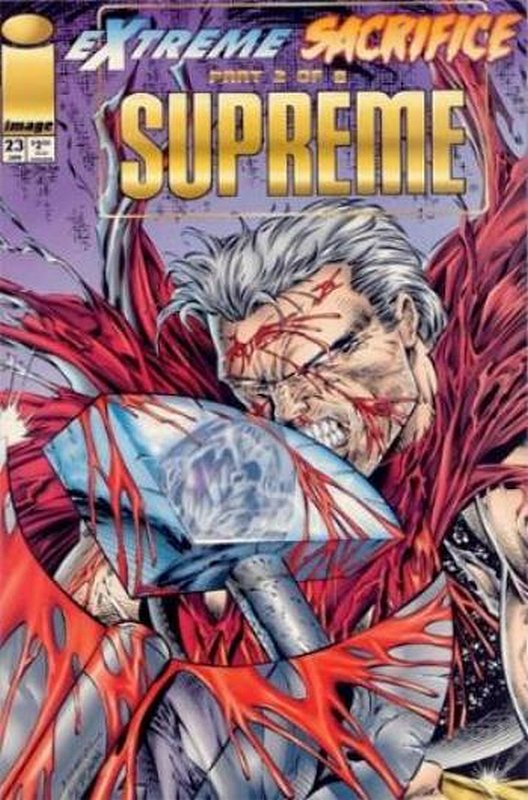 Cover of Supreme (Vol 1) #23. One of 250,000 Vintage American Comics on sale from Krypton!