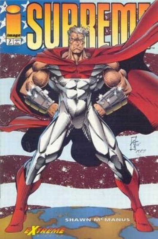 Cover of Supreme (Vol 1) #7. One of 250,000 Vintage American Comics on sale from Krypton!