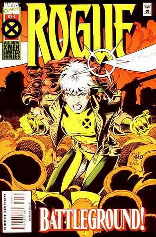 Cover of Rogue (Ltd 1995) #2. One of 250,000 Vintage American Comics on sale from Krypton!