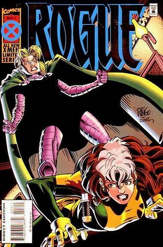 Cover of Rogue (Ltd 1995) #3. One of 250,000 Vintage American Comics on sale from Krypton!