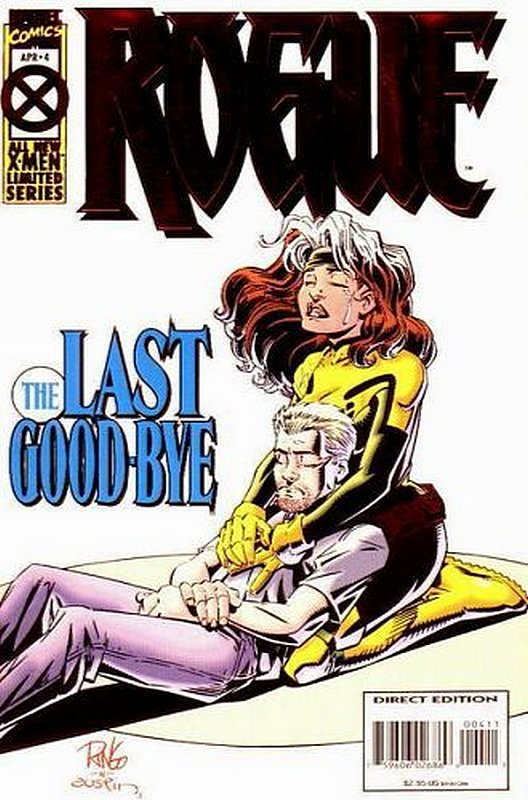 Cover of Rogue (Ltd 1995) #4. One of 250,000 Vintage American Comics on sale from Krypton!