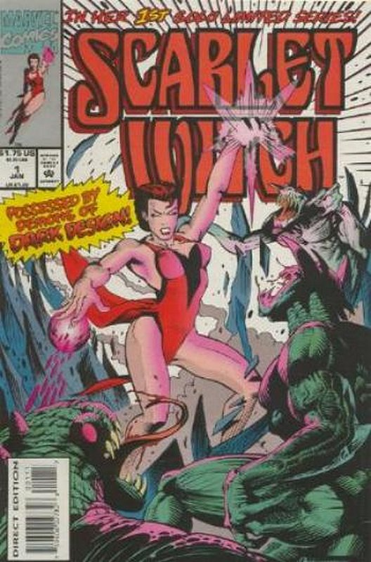 Cover of Scarlet Witch (1994 Ltd) #1. One of 250,000 Vintage American Comics on sale from Krypton!
