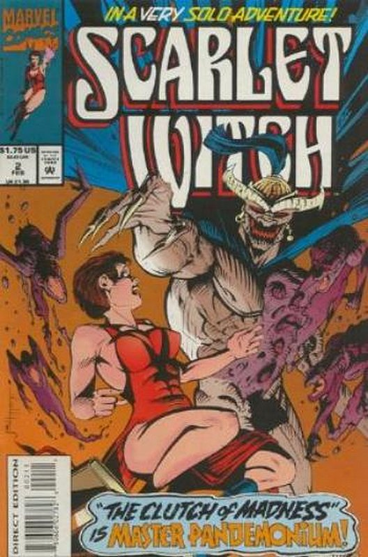 Cover of Scarlet Witch (1994 Ltd) #2. One of 250,000 Vintage American Comics on sale from Krypton!