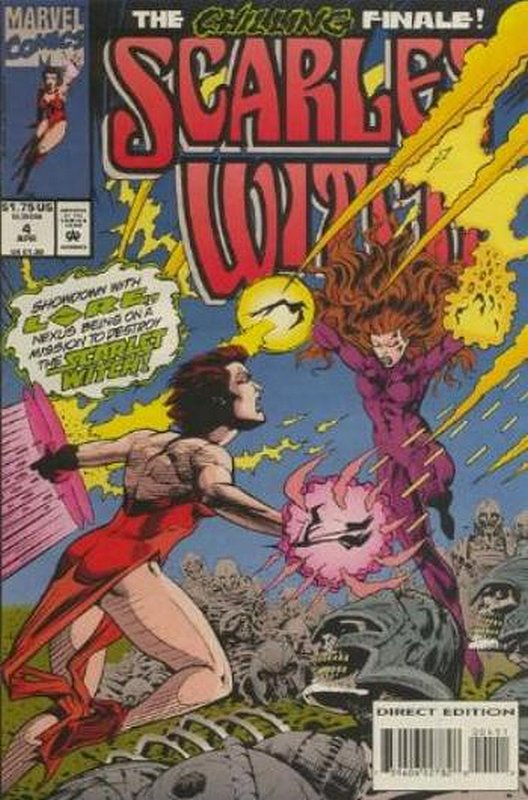 Cover of Scarlet Witch (1994 Ltd) #4. One of 250,000 Vintage American Comics on sale from Krypton!