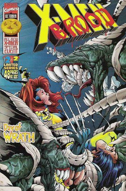 Cover of X-Men: Brood Day of Wrath (1996 Ltd) #2. One of 250,000 Vintage American Comics on sale from Krypton!