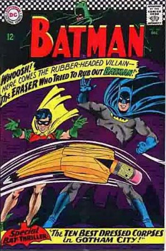 Cover of Batman #188. One of 250,000 Vintage American Comics on sale from Krypton!