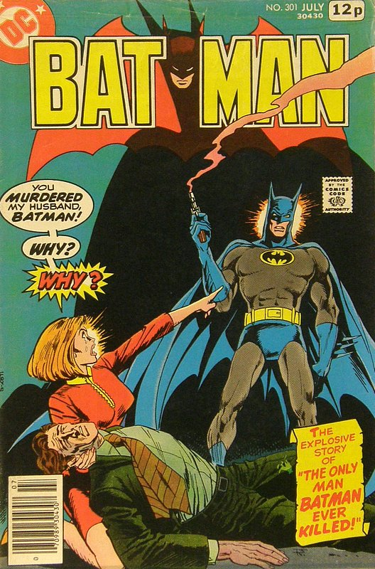 Cover of Batman #301. One of 250,000 Vintage American Comics on sale from Krypton!